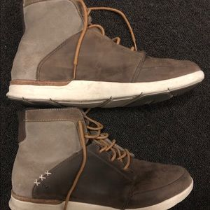 SUPERfeet Men's Aspen Boots -Brown - Size 11.5